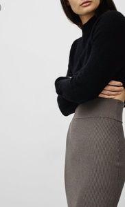 Aritzia Wilfred Josephine Knit Midi Skirt Medium